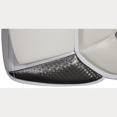 Inner Side Detail (Brians Sub Zero Pro 3 Goalie Leg Pads - Senior)