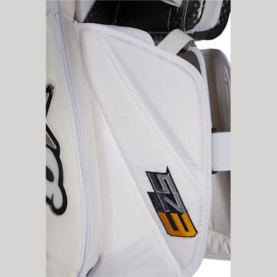 Outer Side Detail (Brians Sub Zero Pro 3 Goalie Leg Pads - Senior)