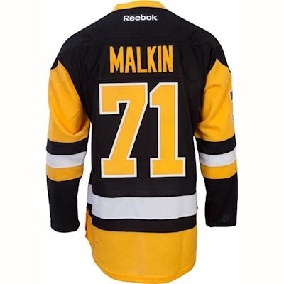 hot sale online c8337 a24fb Reebok Evgeni Malkin Pittsburgh Penguins Premier Jersey ...
