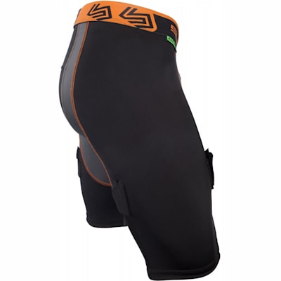 Side View (Ultra Compression Hockey Jock Shorts w/AirCore Cup - Mens)