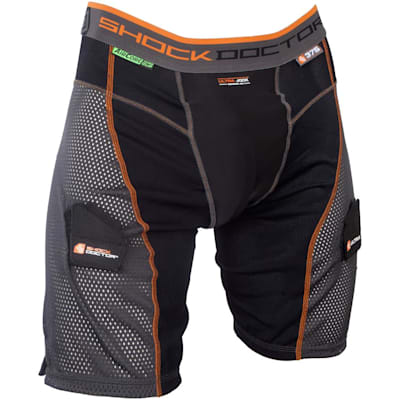 Black/Grey (Ultra Power Stride Jock Shorts w/AirCore Cup - Mens)