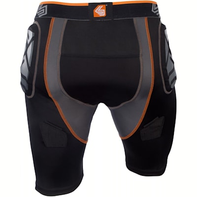 (Ultra ShockSkin Compression Hockey Jock Short w/ AirCore Cup - Boys)