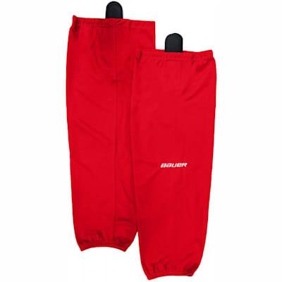 Red (Bauer 600 Series Premium Socks - Junior)