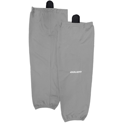 Silver (Bauer 600 Series Premium Socks - Junior)