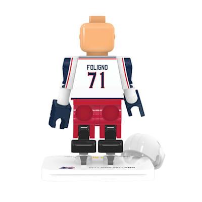 (OYO Sports Columbus Blue Jackets NHL Mini Figures - Away Jersey)