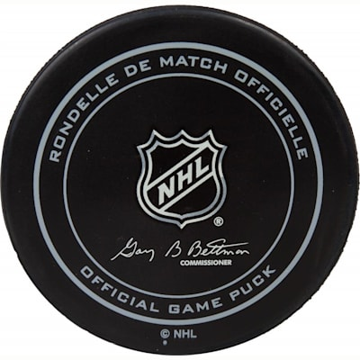 Back Of Puck (Sher-Wood NHL Official Team Game Puck)