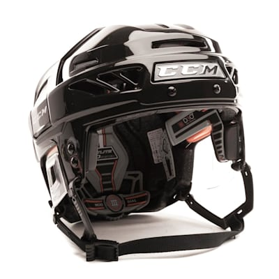 Black/Black (CCM FitLite 3DS Hockey Helmet)