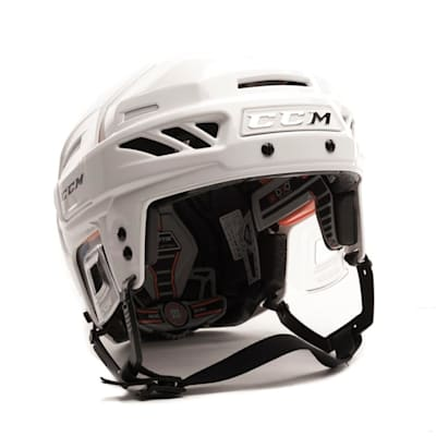 White/White (CCM FitLite 3DS Hockey Helmet)