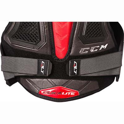 (CCM QuickLite Hockey Shoulder Pads - Junior)
