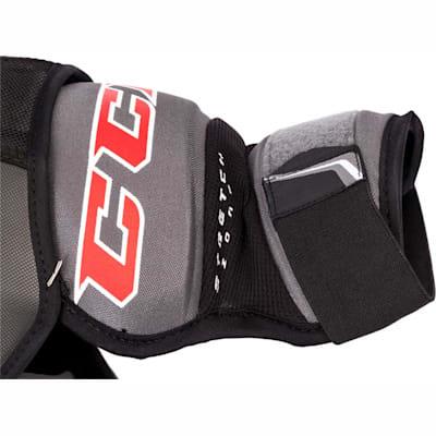 (CCM WS1 Women's Hockey Shoulder Pads - Womens)