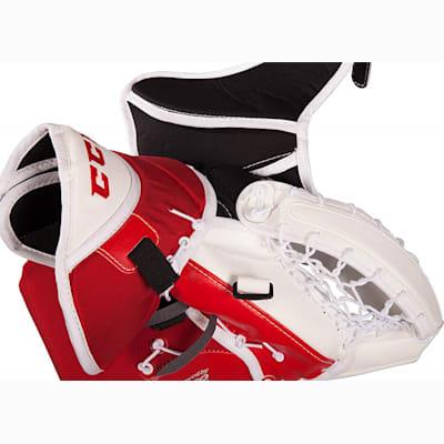 opened (CCM Premier R1.9 Goalie Catch Glove - Senior)