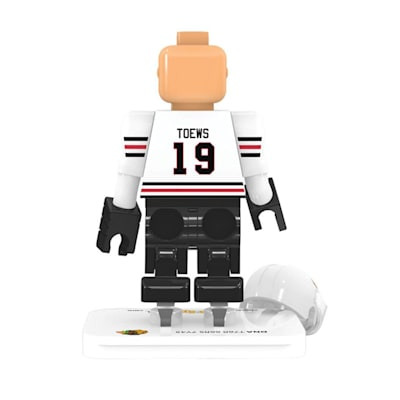(OYO Sports Chicago Blackhawks NHL Mini Figures - Away Jersey)