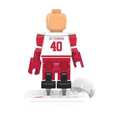 Back View (OYO Sports Detroit Red Wings NHL Mini Figures - Away Jersey)