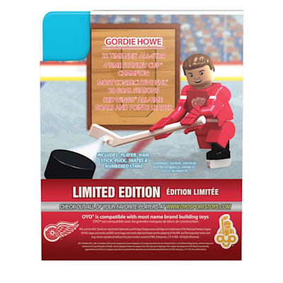 (OYO Sports Detroit Red Wings NHL Mini Figures - Away Jersey)