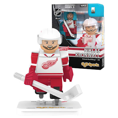 Kronwall (OYO Sports Detroit Red Wings NHL Mini Figures - Away Jersey)