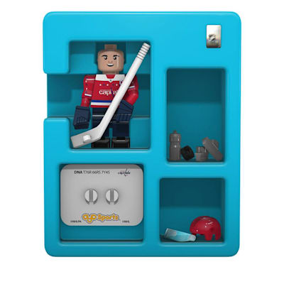Contents Of Package (OYO Sports Washington Capitals NHL Mini Figures - Third Jersey)