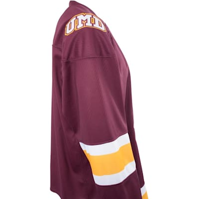 Side (Under Armour Minnesota-Duluth Bulldogs Jersey - Home/Dark - Senior)