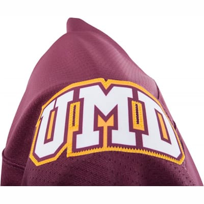 Shoulder Logo (Under Armour Minnesota-Duluth Bulldogs Jersey - Home/Dark - Senior)