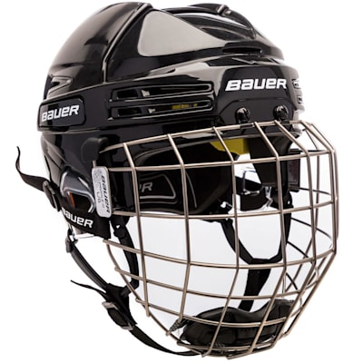 (Bauer RE-AKT 75 Hockey Helmet Combo)