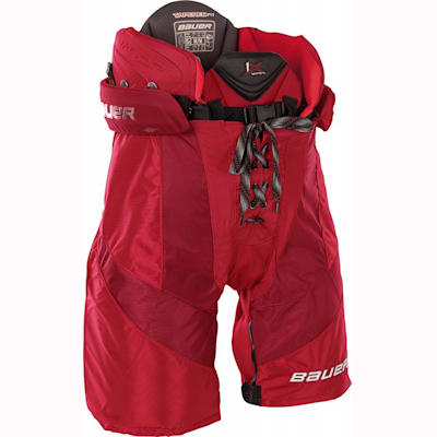 Red (Bauer Vapor 1X Ice Hockey Pants - Senior)