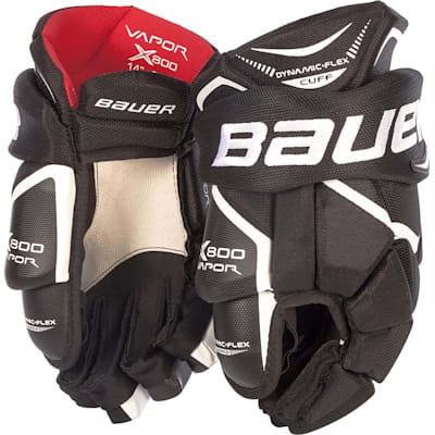 Black (Bauer Vapor X800 Hockey Gloves - Junior)