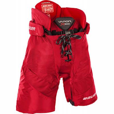 Red (Bauer Vapor X900 Ice Hockey Pants - Junior)