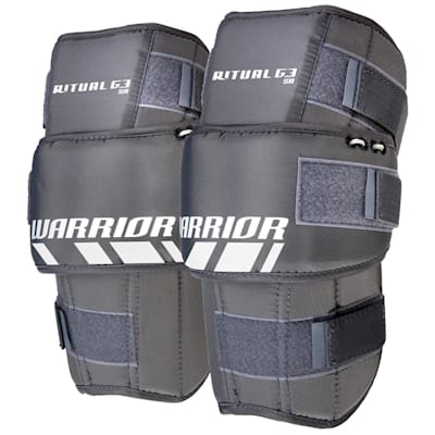 Included Knee Pads (Warrior Ritual G3 Pro Hockey Goalie Leg Pads - Senior)