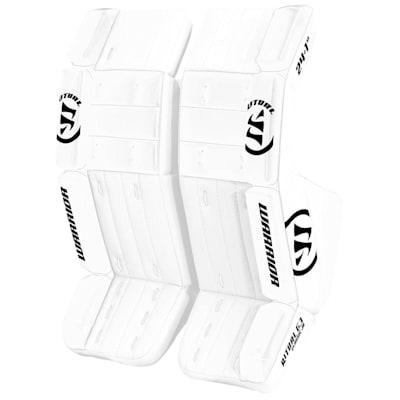 White/White (Warrior Ritual G3 Classic Goalie Leg Pads - Junior)