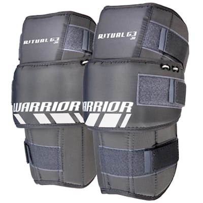 Included Kneed Pad (Warrior Ritual G3 Classic Goalie Leg Pads - Junior)