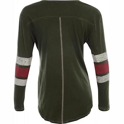 huge selection of 1c0ce 084e4 Retro Brand Minnesota Wild Henley Long Sleeve Shirt - Womens ...