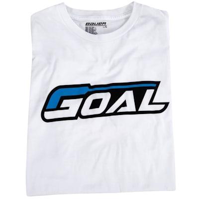 S16 Bauer Goal SS Tee (Bauer Goal Tee Shirt - Mens)