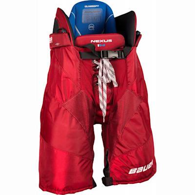 Red (Bauer Nexus 1N Hockey Pants - Senior)