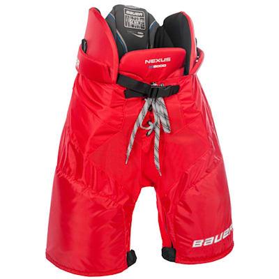 Red (Bauer Nexus N8000 Ice Hockey Pants - Senior)
