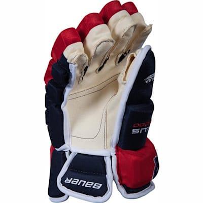 (Bauer Nexus N9000 Ice Hockey Gloves - Junior)