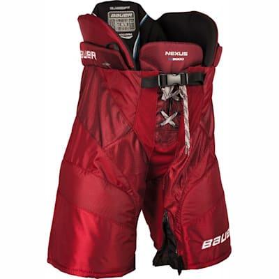 Red (Bauer Nexus N9000 Hockey Pants - Junior)