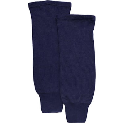 Navy (CCM S100P Knit Socks - Youth)