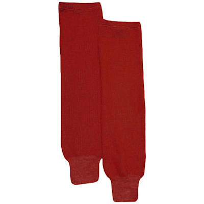 Red (CCM S100P Knit Socks - Youth)