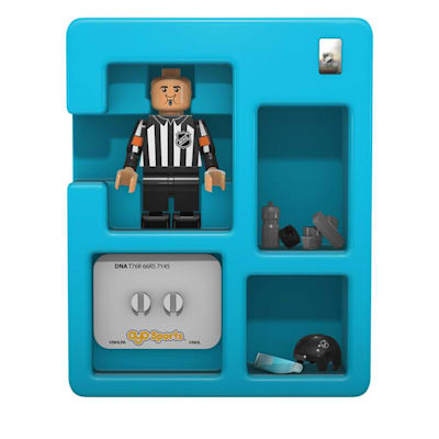 Contents of Package (OYO Sports NHL Referee Figure)