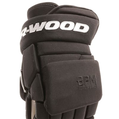 Cuff View (Sher-Wood BPM 120S Hockey Gloves - Senior)