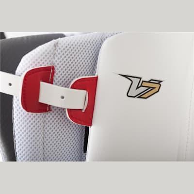 (Vaughn Velocity 7 XF Pro Goalie Leg Pads - Senior)