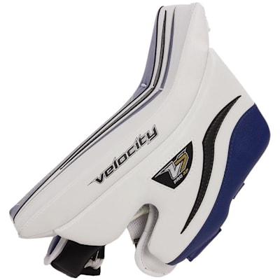 (Vaughn Velocity 7 XF Pro Goalie Blocker - Senior)