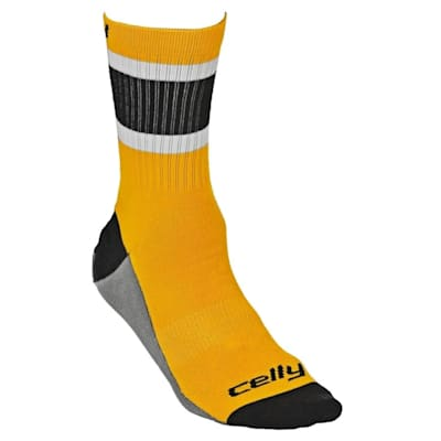 Boston Celly Socks (Celly Hockey Socks - Boston - Mens)