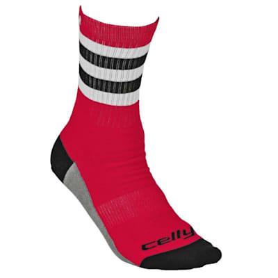 Tour Chicago Celly Socks (Celly Hockey Socks - Chicago - Mens)