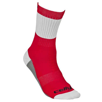 Tour Detroit Celly Socks (Celly Hockey Socks - Detroit - Mens)