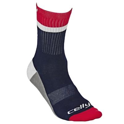 Washington Celly Socks (Celly Hockey Socks -Washington - Mens)