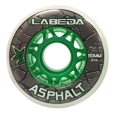 White/Green (Labeda Asphalt Outdoor Wheel)