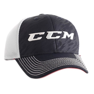 USA Flag Hat (CCM Performance Stretch Fit Hockey Hat - Adult)