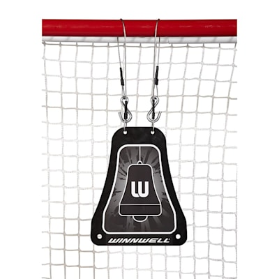 (Metal Bell Hockey Shooting Target)