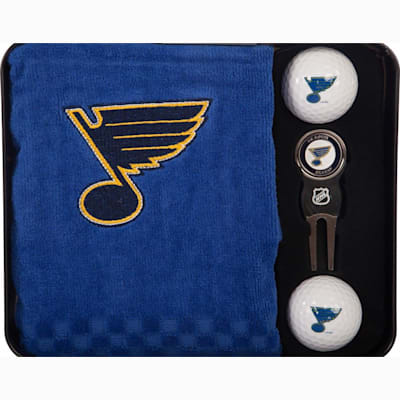 (NHL Embroidered Golf Towel Tin Set)