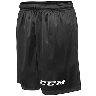 Black (CCM Team Mesh Hockey Shorts - Boys)